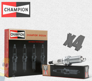 Champion (9201) RC12WYPB4 Iridium Replacement Spark Plug - Set of 4