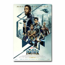 219C2 Black Panther 2018 Movie 3 Print Art Silk Cloth Poster Deco