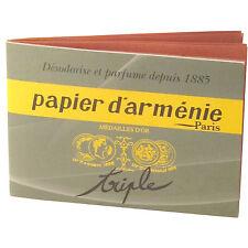 Armenisches Papier d Arménie Original triple d'armenie traditional Räucherpapier