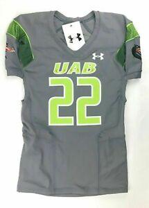 Under Armour UAB Gameday Compfit 2 Football Jersey #22 Men's XL Green UF029JM