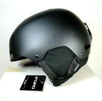New GIRO Ledge Adult Sz S Snow Sports Helmet Matte Black w box
