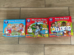 orchard games bundle, Money Match Cafe, What's The Time mr Wolf?, Pass The Word