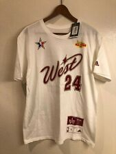 NWT Kobe Bryant authentic Adidas 2007 All-Star Game MVP t-shirt jersey (size: L)