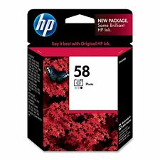 GENUINE NEW HP 58 (C6658AN) Photo Color Ink Cartridge