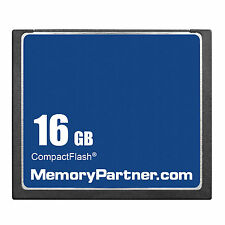16GB CF 16GB CompactFlash CF Memory Card Genuine With Case