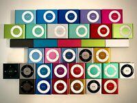 Apple iPod Shuffle 2nd, 3rd, 4th, 5th, 6th Generation/1GB, 2GB, 4GB - Very Good!