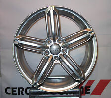Set 4 Cerchi in Lega 18 AUDI RS A6 S6 Q5 A5 S5 Quattro All road Avant Sportback