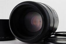 Near MINT Konica Minolta Dynax New AF 100mm f/2.8 Macro w/ Hood For Sony Alpha