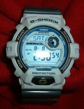 Casio G-Shock Watch Shock Water Resistant 3285 G-8900SC White Gray Band WORKS