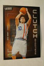 NBA CARD - Upper Deck - Victory - Clutch Shooters - Mike Bibby - Kings