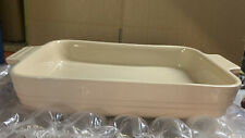 Le Creuset Stoneware 39cm Rectangular Baking Dish - Pink (New)