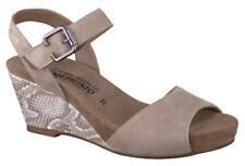 Ladies Casual Wedge Sandal Mephisto Beauty Light Sand EU Size 36