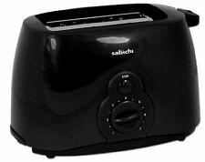 Sabichi Essentials Black 2 Slice Toaster 800 watt slim ,compact ideal small