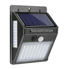 1 pc Solar Wall Light 3-sided Illuminated 100LED Outdoor Lights for Patio Porch