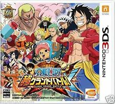 Used 3DS One Piece : Super Grand Battle! X  NINTENDO 3DS JAPANESE  IMPORT