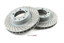 Audi/PORSCHE RS2 Bremsscheiben gelocht vorne entsprechen 8A0615283/8A0615284