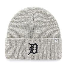 MLB Detroit Tigers Wollmütze Wintermütze Brain Freeze Mütze grau cuffed Baseball
