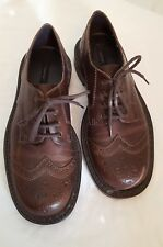 NEW American Eagle Women's Leather Oxfords Shoes Sz 7 M BROWN $54