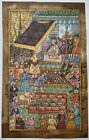 Early Persian Court Scene Handmade Miniature Handcrafted Persian Art On Paper