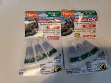 2X-Hartz Ultra Guard Dual Action Topical Flea& Tick Drops Dogs 5-14 Lbs 2 Packs