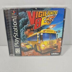PS1 Vigilante 8 (Sony PlayStation 1 1998) Complete