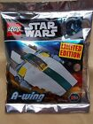 NEW LEGO STAR WARS FOIL PACK MINI SET OR MINIFIGURE IN POLY BAG. CHOOSE 1 U WANT