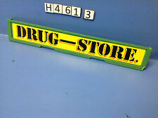 (H461.3) playmobil enseigne drug store, maison western ref 3424 3462