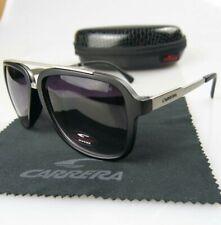 Carrera 0139 MATTE BLACK Men & Women's Sunglasses+Carrera Case&Cloth Made Italy