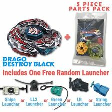 L-Drago Destructor F:S Beyblade w/ Free Launcher & Tips / Parts / Card Gift Pack