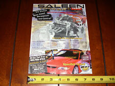 1998 SALEEN MUSTANG PARTS SPEEDLAB TESTED **ORIGINAL ADVERTISEMENT / PRINT AD***