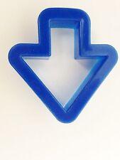 """Blue 2 1/4"""" Arrow Cookie Cutter Art Mold"""
