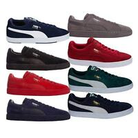 Mens Puma Suede & Classic Trainers In Various Colors From Get The Label