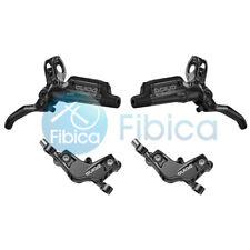 New SRAM Guide RSC 4-Piston Hydraulic Disc Brake pair Black set Front+Rear