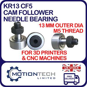 KR13 CF5 Cam Follower Needle Bearing GT2/GT3 6mm Belt Tensioner CNC 3D Printer