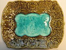 1895 - 1912 VILLEROY & BOCH Schramberg Majolica rectangular Platter