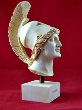 Achilles bust , Hero Iliad Aged Patina Statue Free Shipping - Tracking