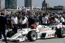 Eliseo Salazar Ram equipo marzo 01 USA West Grand Prix 1983 fotografía 2