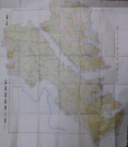Color Soil Survey Map Yorktown Sheet Virginia Williamsburg Newport News 1905