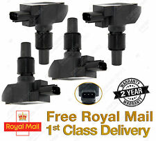 SET OF 4 MAZDA RX8 RX-8 RX 8 IGNITION COIL PACKS 2YR WARRANTY N3H1-18-100 *NEW*