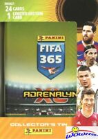 2021 Panini Adrenalyn XL FIFA 365 EXCLUSIVE Sealed Collectors TIN-24 Cards+LE