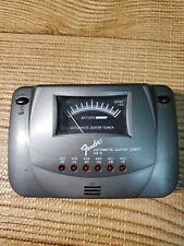 Fender Ag-6 Tone Automatic Guitar Tuner Black Electric Bass Musical Instrument