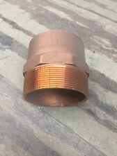 """4"""" Wrot Copper Sweat Male Adapter"""