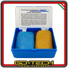 Resina bicomponente Weicon Stucco epossidica metalli alte Temperature 100 grammi