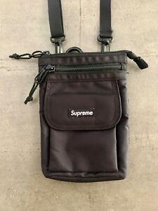 Supreme FW19 Shoulder Bag BOX LOGO Black