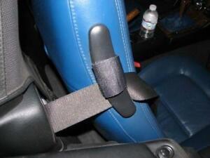 NEW BMW Z3 E36 Roadster 96-02 Seat Belt Guide Black Upper Back RIGHT GENUINE