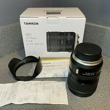 Tamron SP 24:70mm f/2.8 Di VC USD G2 for Canon With Tap in ConsoIe