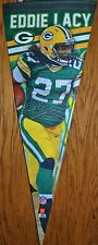 """NFL Green Bay Packers Eddie Lacy Premium Felt Pennant Made in the USA 12"""" x 30"""""""