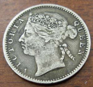 British Honduras 1894 Silver 10 Cents VF - XF Victoria