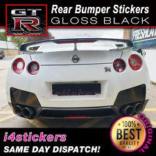 Nissan GTR Rear Bumper Stickers Decals JDM Drift GET THE MEAN LOOK!