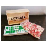 Jeu de Société Loto Bingo 90 numéros + 48 Cartons de Jeu Lotto + Boîte
